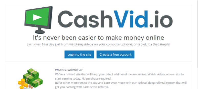 Stacking Coins While You Are Sleeping With CashVid | The Money